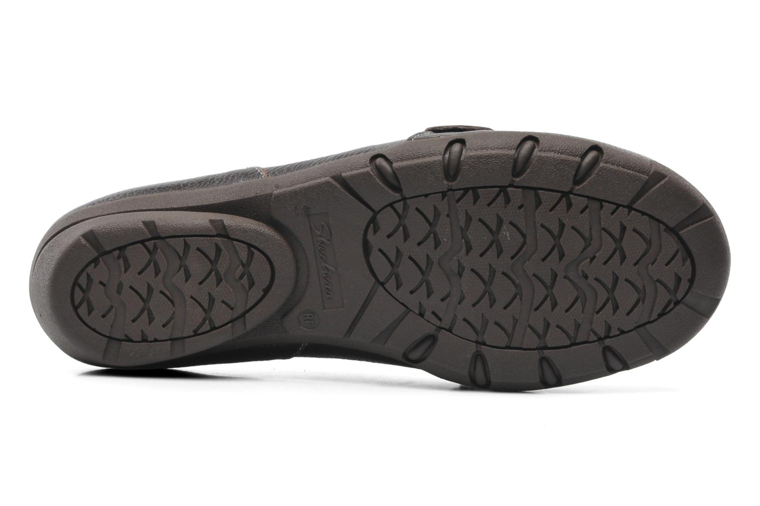 Loafers Skechers Career 48986 Brown view from above