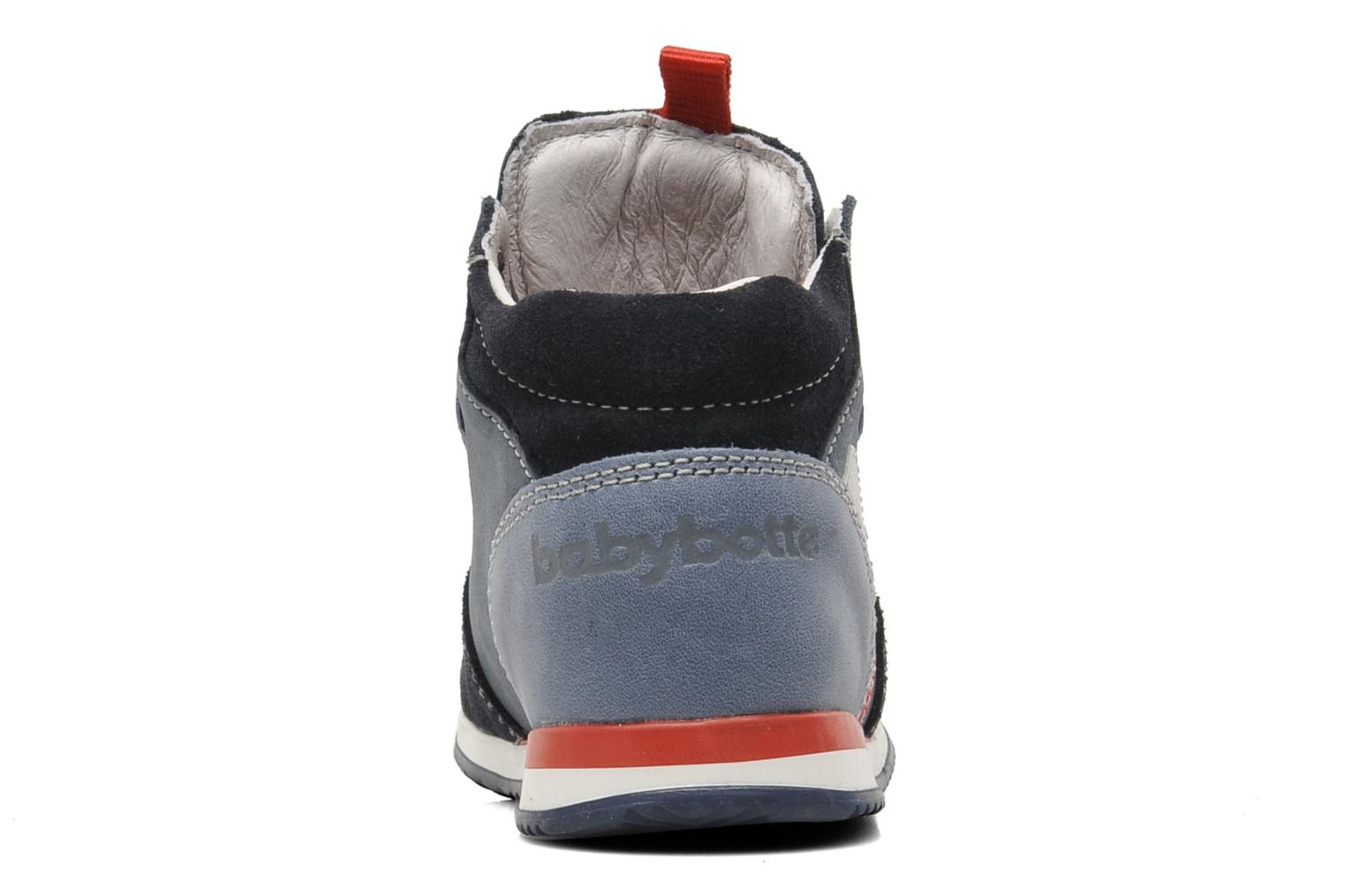 Trainers Babybotte ARRUNER Blue view from the right