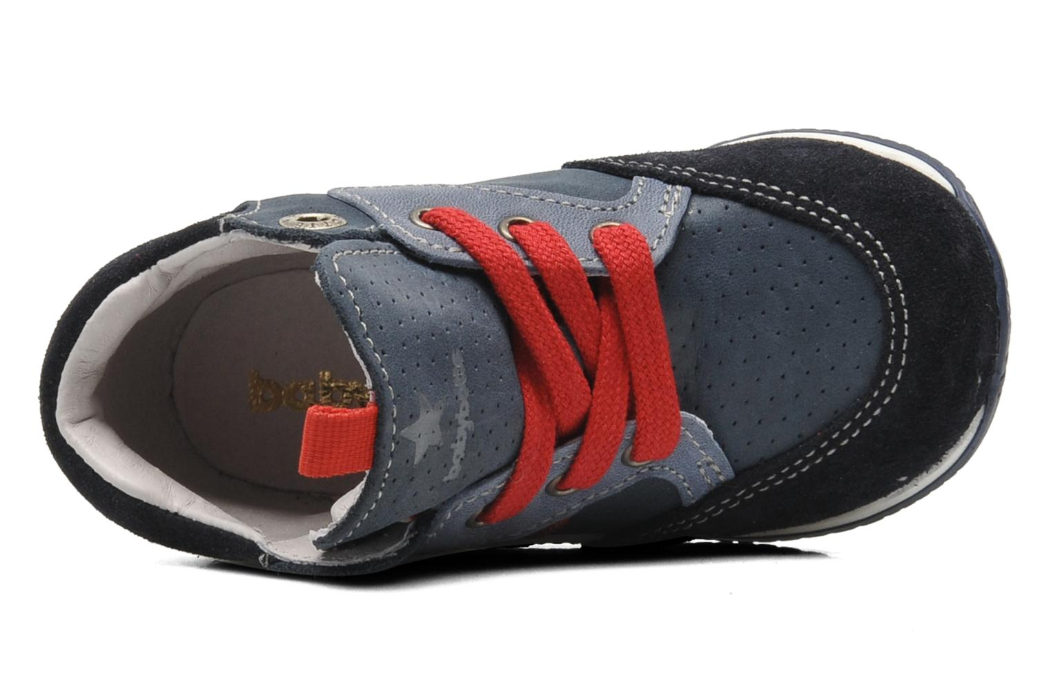 Trainers Babybotte ARRUNER Blue view from the left