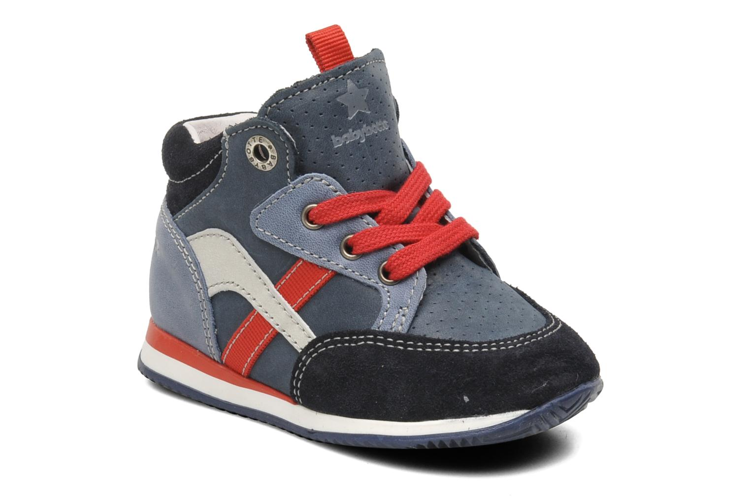 Trainers Babybotte ARRUNER Blue detailed view/ Pair view