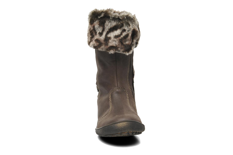 Stiefel Babybotte AZALMA braun schuhe getragen