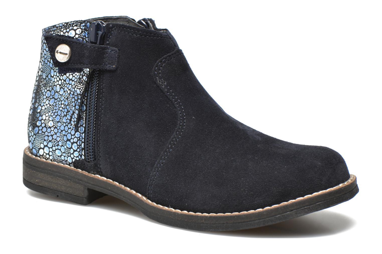Ankelstøvler Babybotte Kenza Blå detaljeret billede af skoene