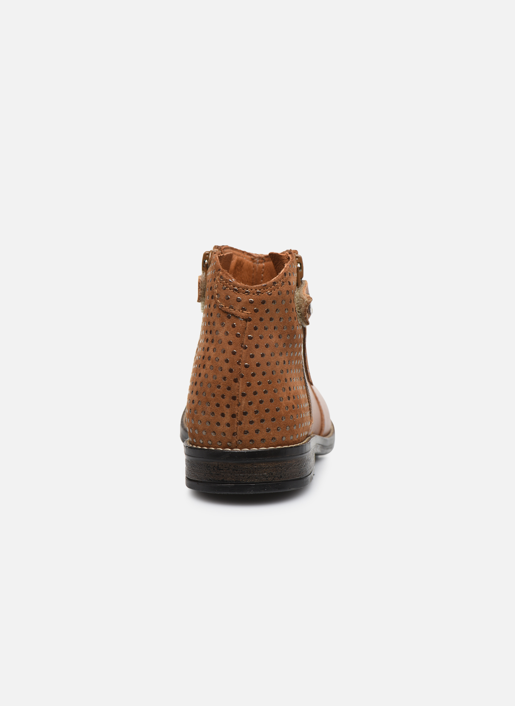 Ankle boots Babybotte Kenza Brown view from the right