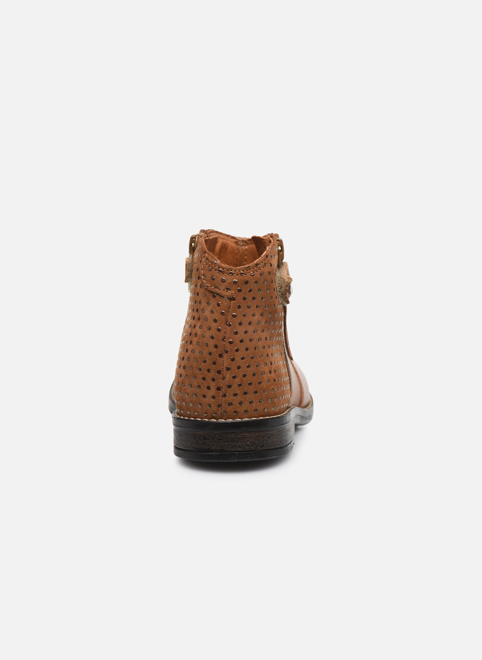 Stiefeletten & Boots Babybotte Kenza braun ansicht von rechts