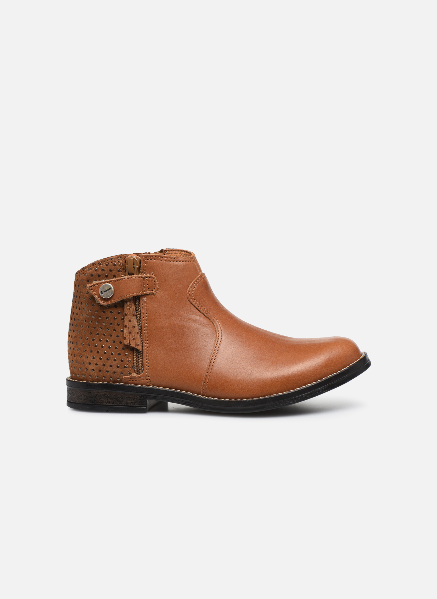 Ankle boots Babybotte Kenza Brown back view