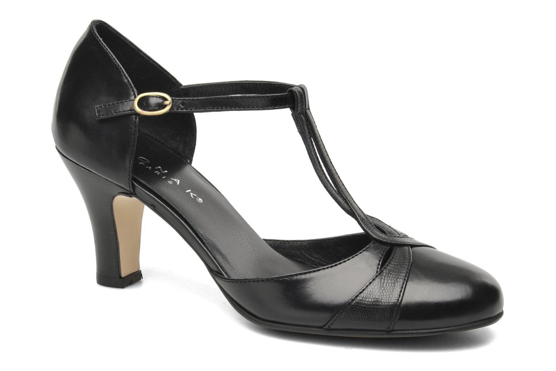 High heels Jonak Zannis Black detailed view/ Pair view