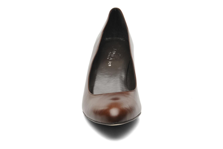 Escarpins Jonak Issine 2 Marron vue portées chaussures