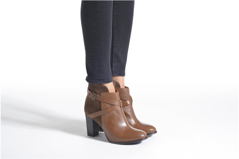 Bottines et boots Jonak Drakos Noir vue bas / vue portée sac