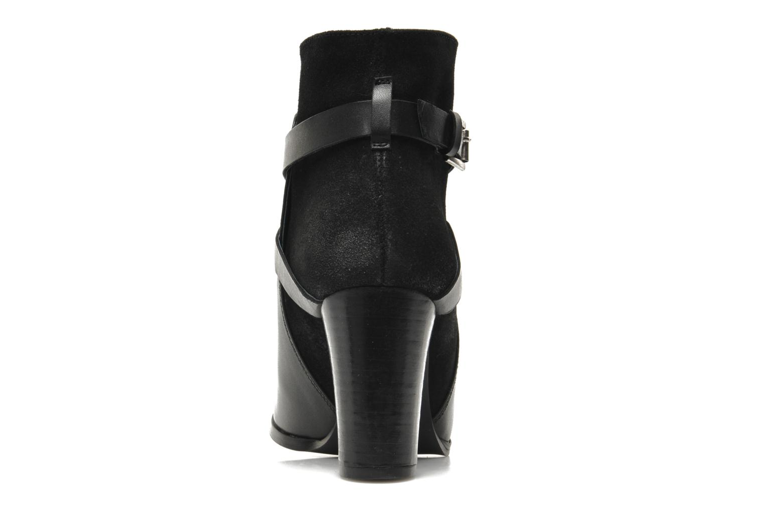 Ankle boots Jonak Drakos Black view from the right