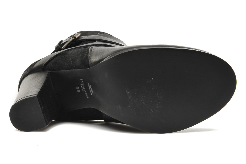Bottines et boots Jonak Drakos Noir vue haut