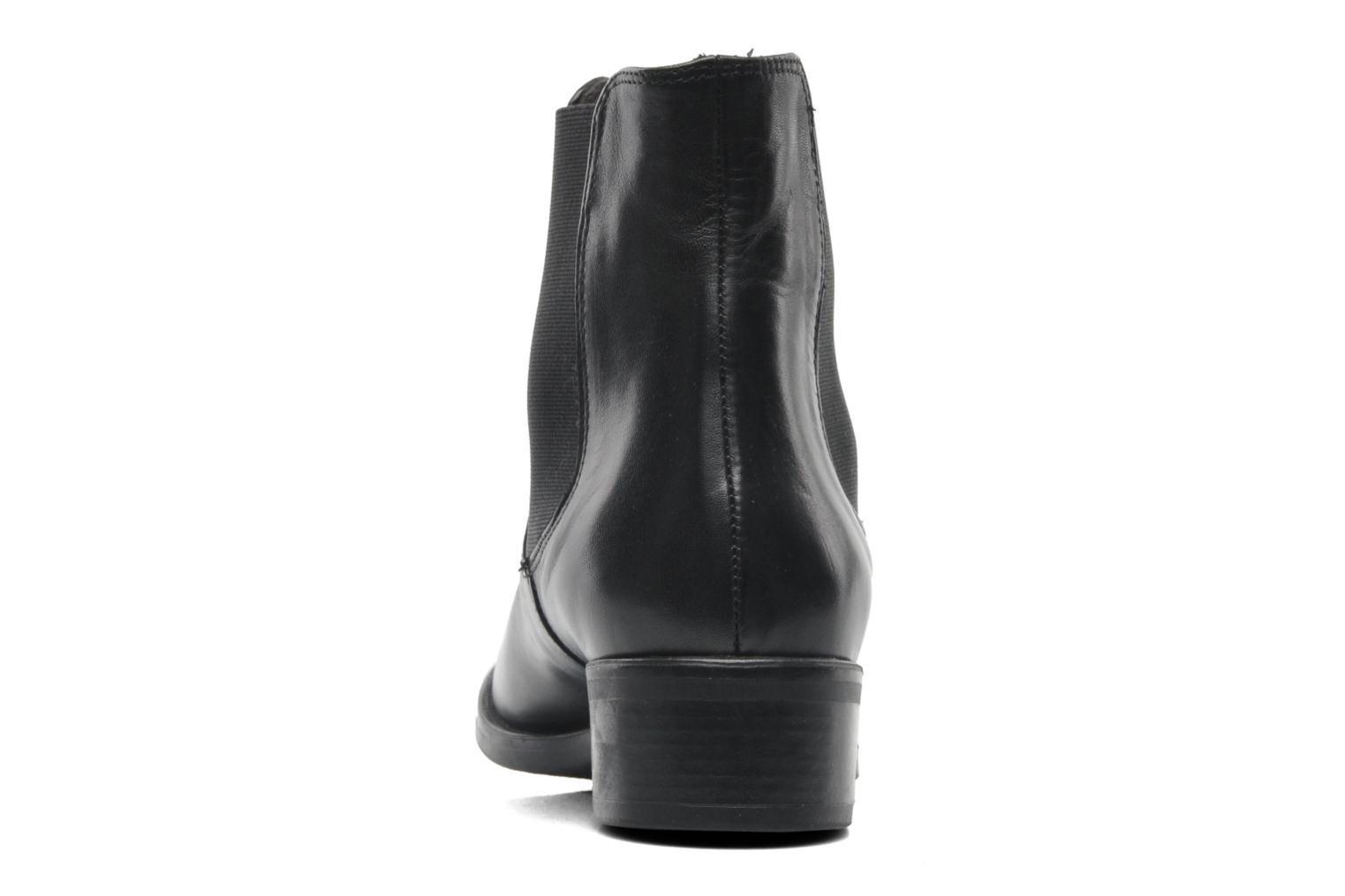 Ankle boots Jonak Sabine Black view from the right