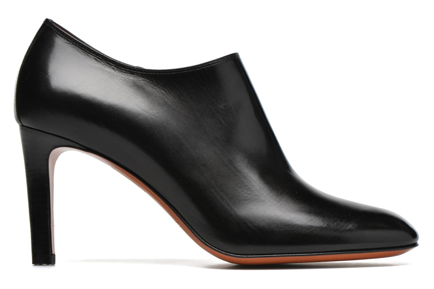 Ankle boots Santoni Moss 53259 INVISIBLE MAUVAISE REF Black back view