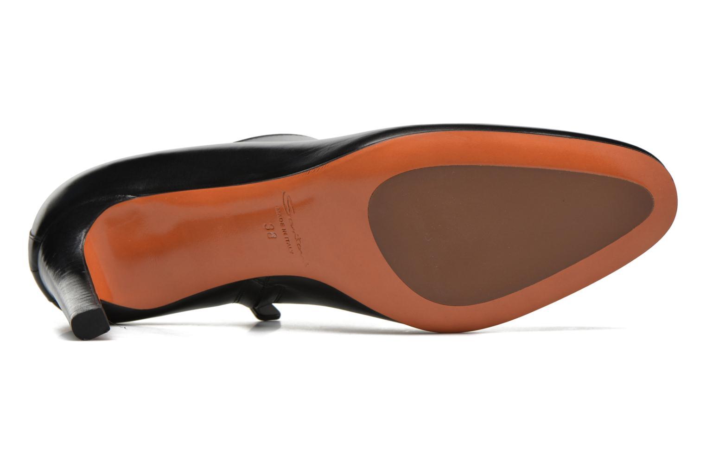 Botines  Santoni Moss 53259 INVISIBLE MAUVAISE REF Negro vista de arriba