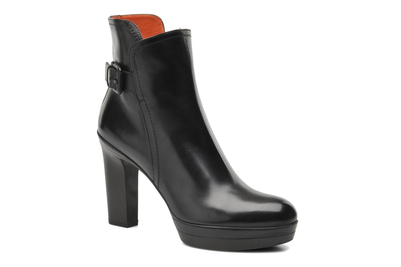 Boots en enkellaarsjes Santoni Blaire 52511 Zwart detail