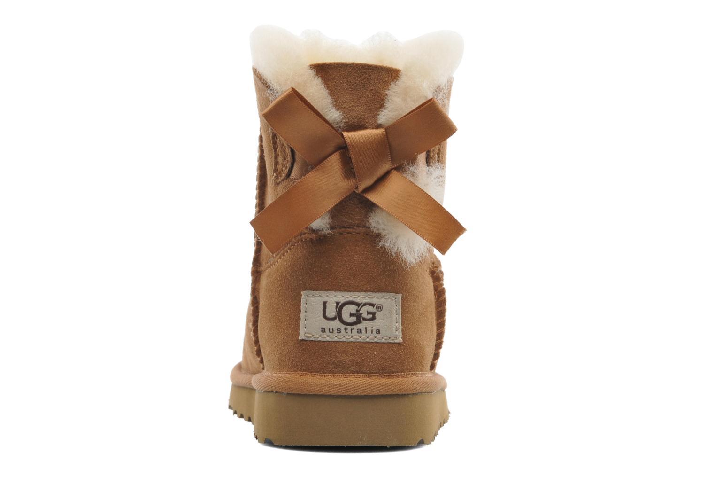 Laarzen UGG Mini Bailey Bow Bruin rechts