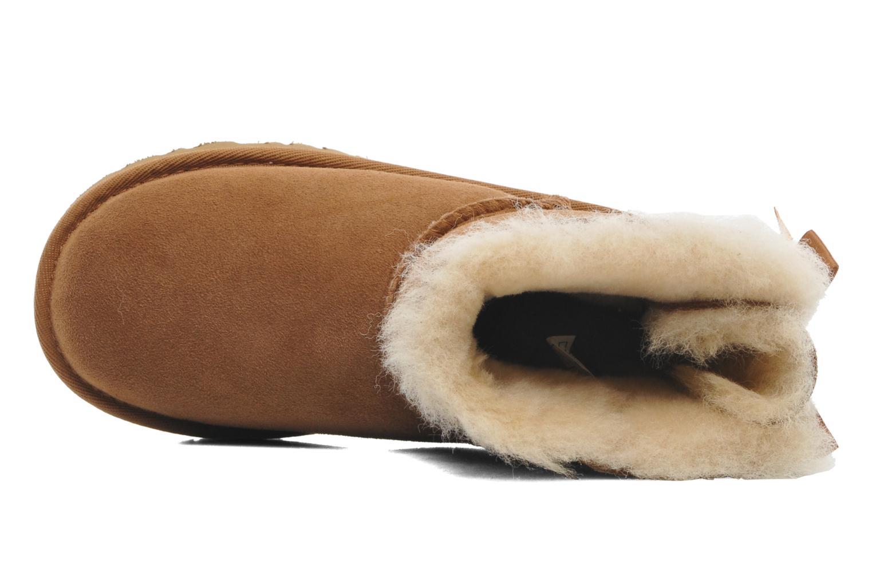 Laarzen UGG Mini Bailey Bow Bruin links