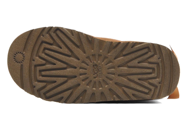 Botas UGG Mini Bailey Bow Marrón vista de arriba