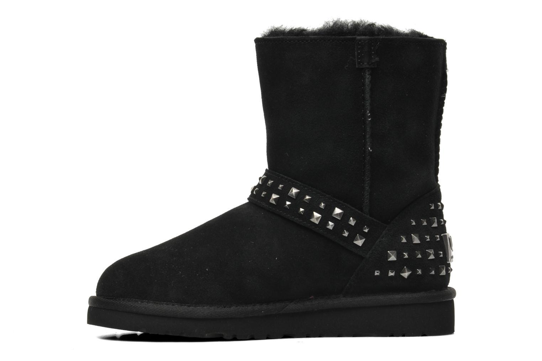 Boots en enkellaarsjes UGG K Blaise Studs Zwart voorkant