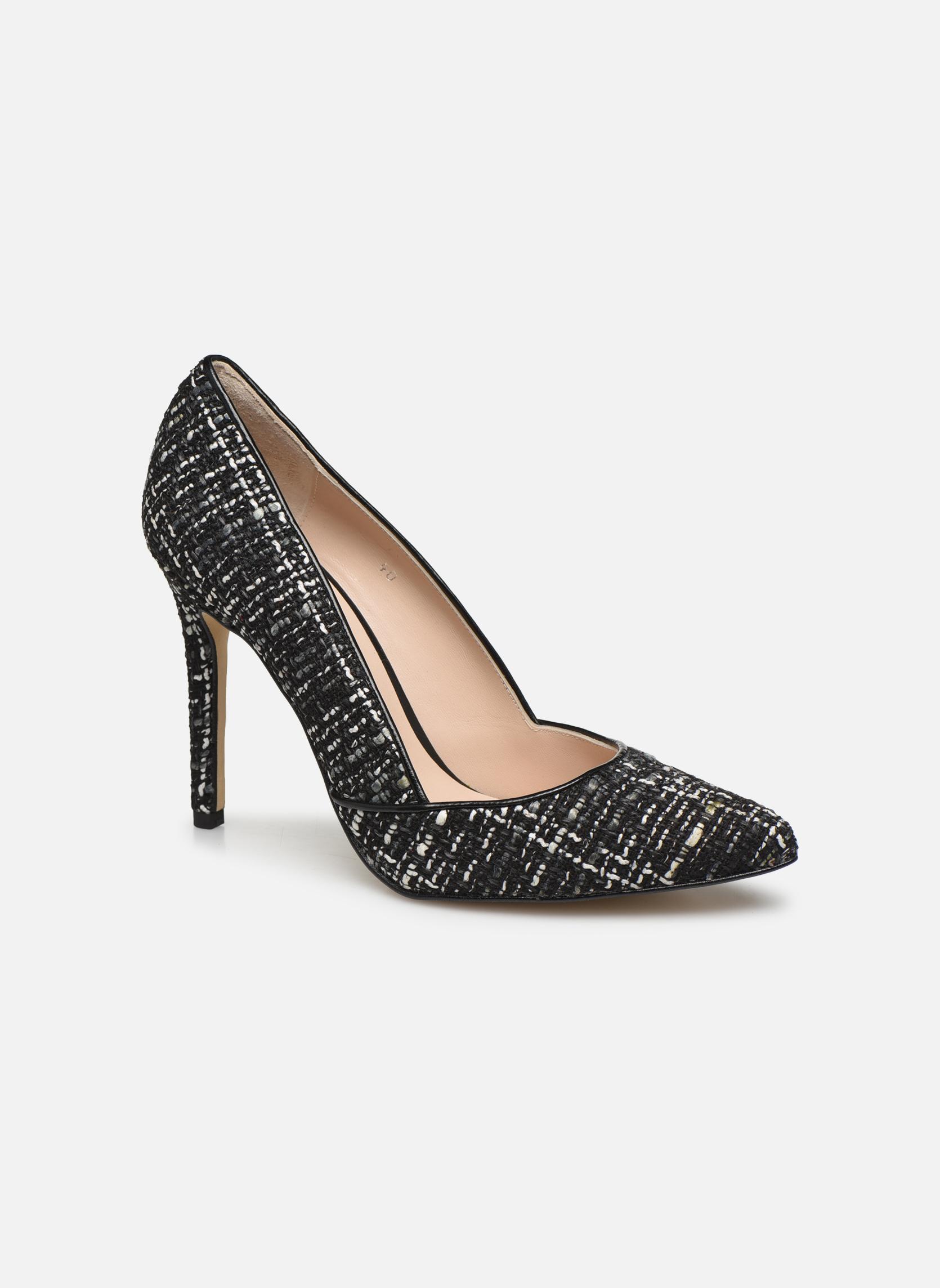 High heels Georgia Rose Fillotte Black detailed view/ Pair view