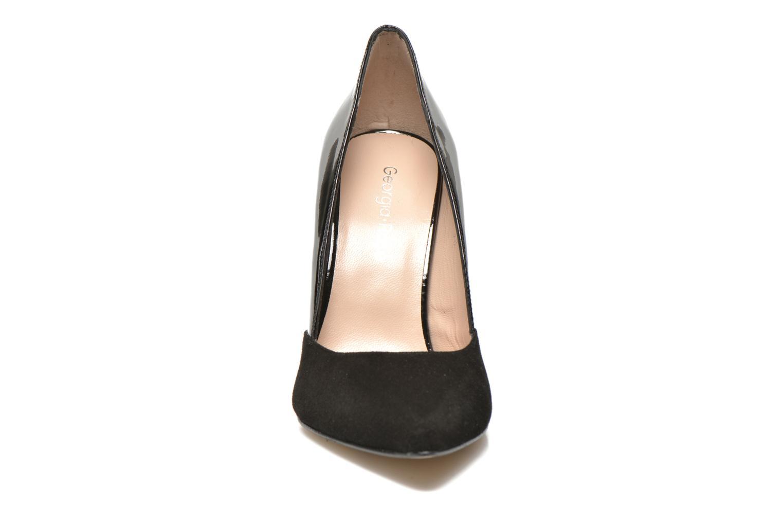 Escarpins Georgia Rose Fillotte Noir vue portées chaussures