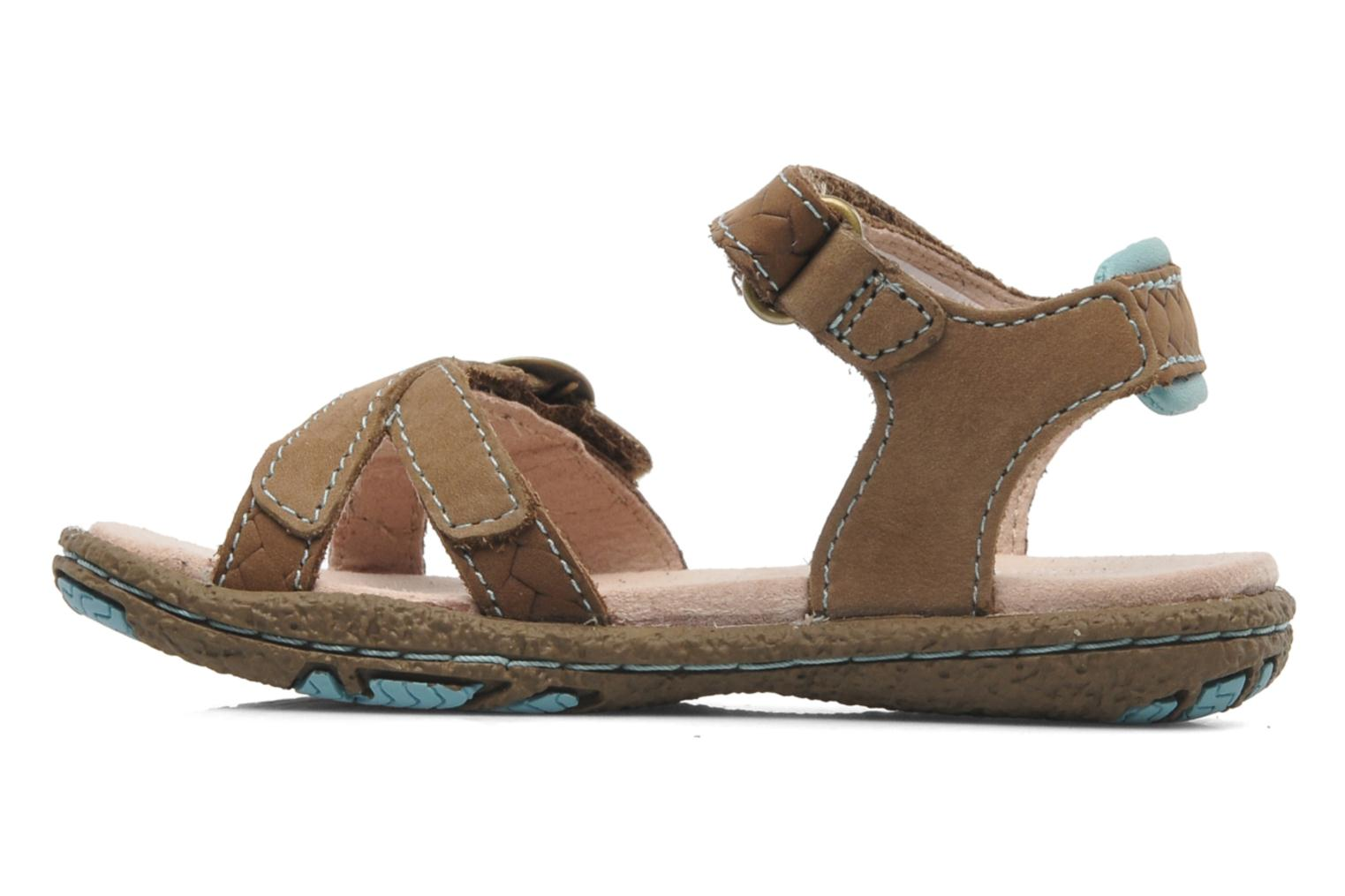 Sandales et nu-pieds Timberland Jennesse Earthkeepers 2 STRSNDL Marron vue face