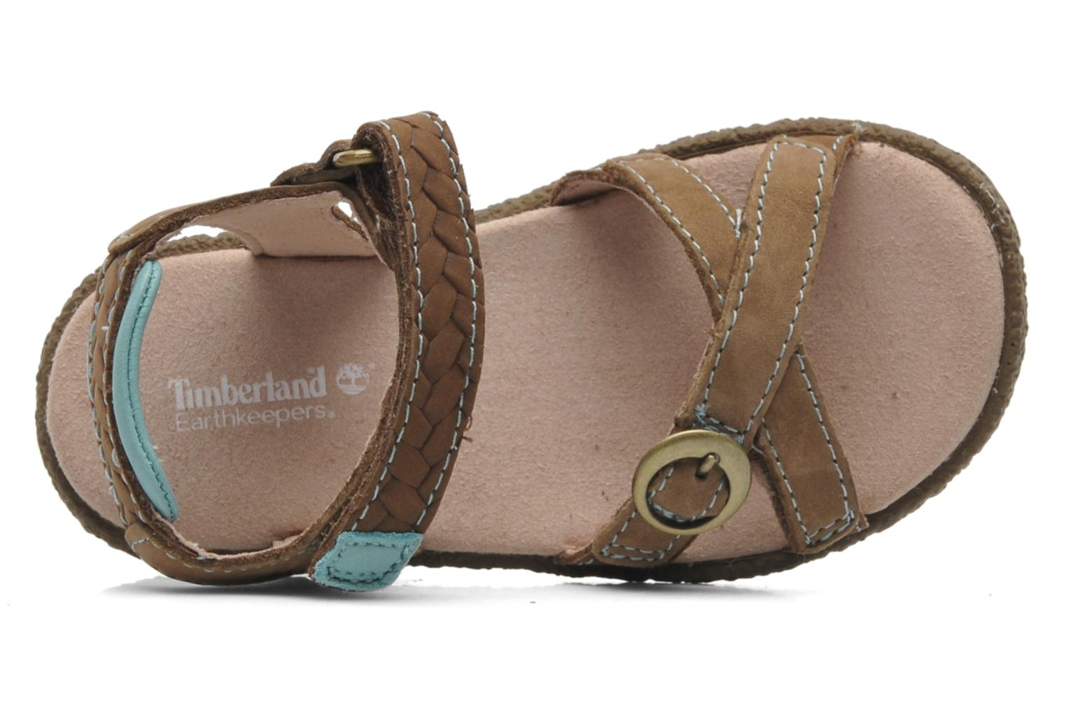 Sandales et nu-pieds Timberland Jennesse Earthkeepers 2 STRSNDL Marron vue gauche