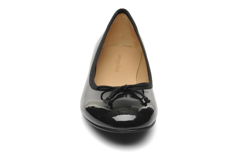Ballerines Georgia Rose Zahara Noir vue portées chaussures