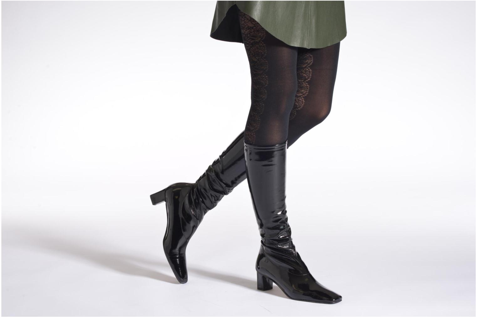 Boots & wellies Elizabeth Stuart Erel 324 Black view from underneath / model view