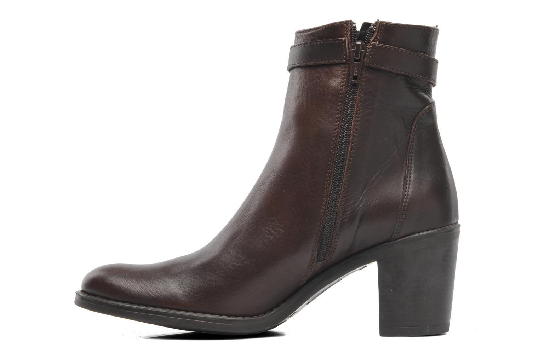 Bottines et boots Elizabeth Stuart Frida 391 Marron vue face