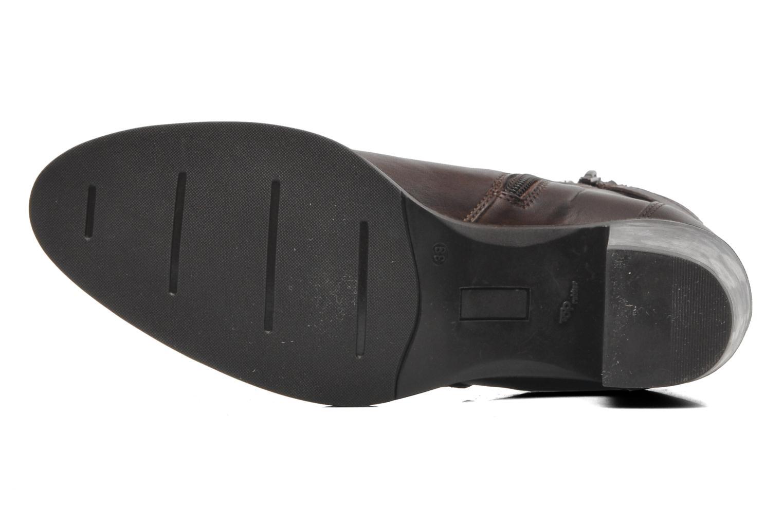 Bottines et boots Elizabeth Stuart Frida 391 Marron vue haut