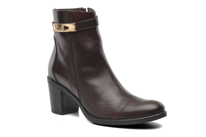 Bottines et boots Elizabeth Stuart Frida 391 Marron vue détail/paire