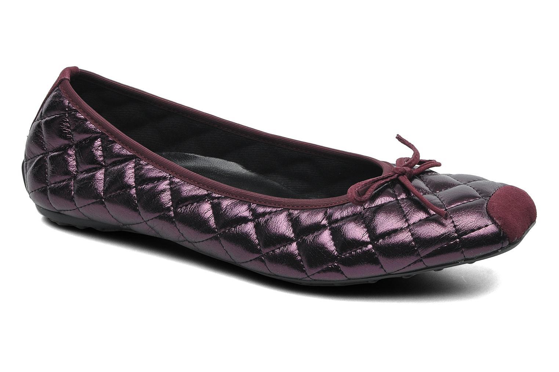 Ballerinaer Elizabeth Stuart Lacq 329 Bordeaux detaljeret billede af skoene