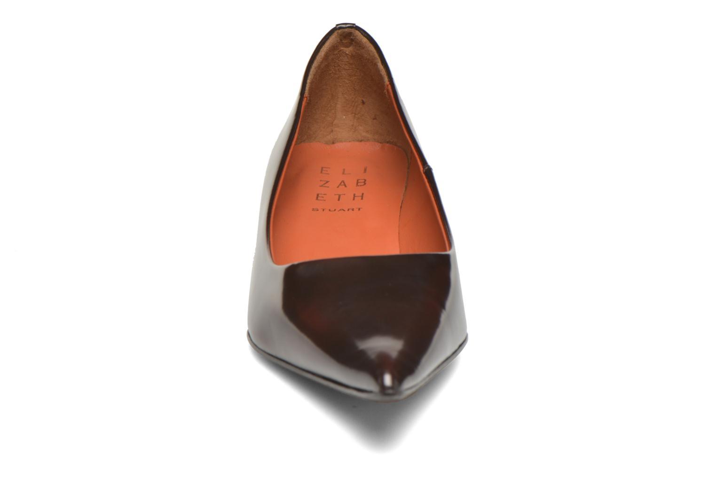 Escarpins Elizabeth Stuart Orthez 308 Bordeaux vue portées chaussures