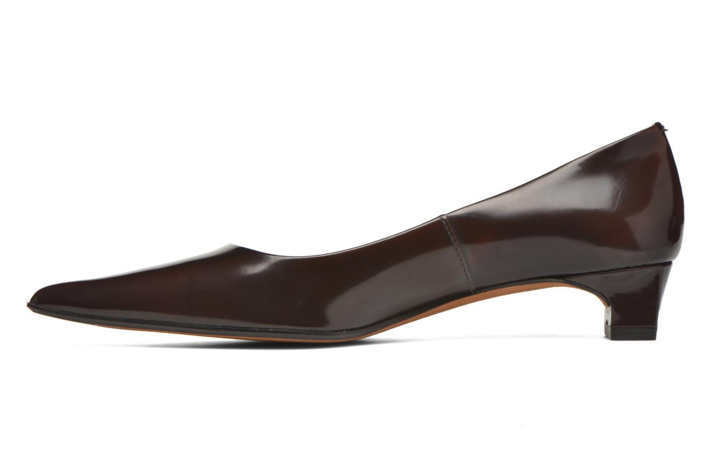 High heels Elizabeth Stuart Orthez 308 Burgundy front view