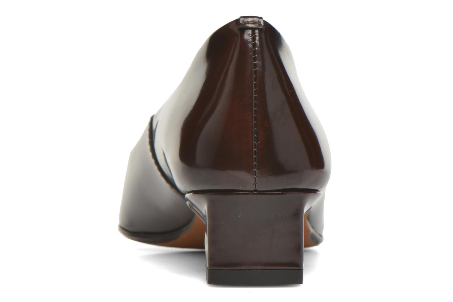 High heels Elizabeth Stuart Orthez 308 Burgundy view from the right