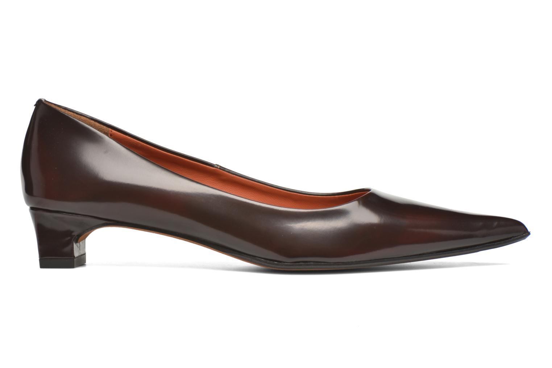 High heels Elizabeth Stuart Orthez 308 Burgundy back view