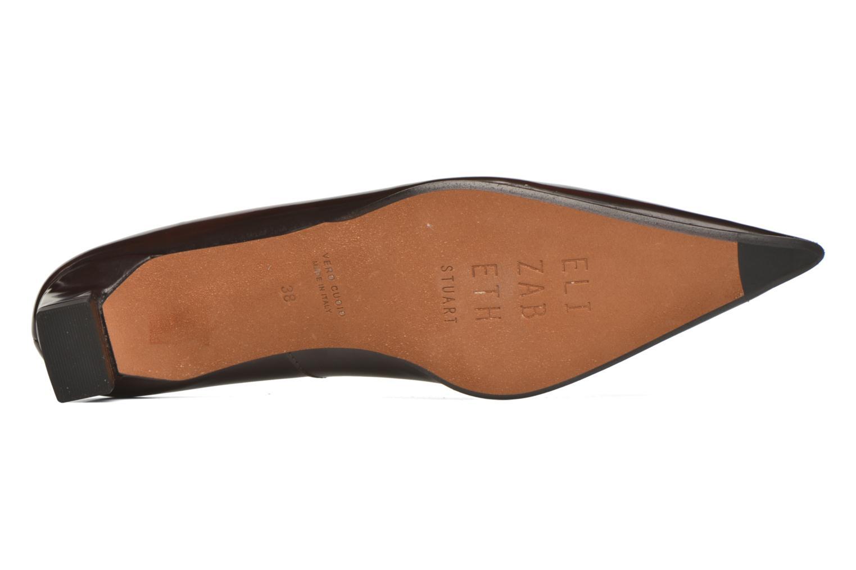 High heels Elizabeth Stuart Orthez 308 Burgundy view from above