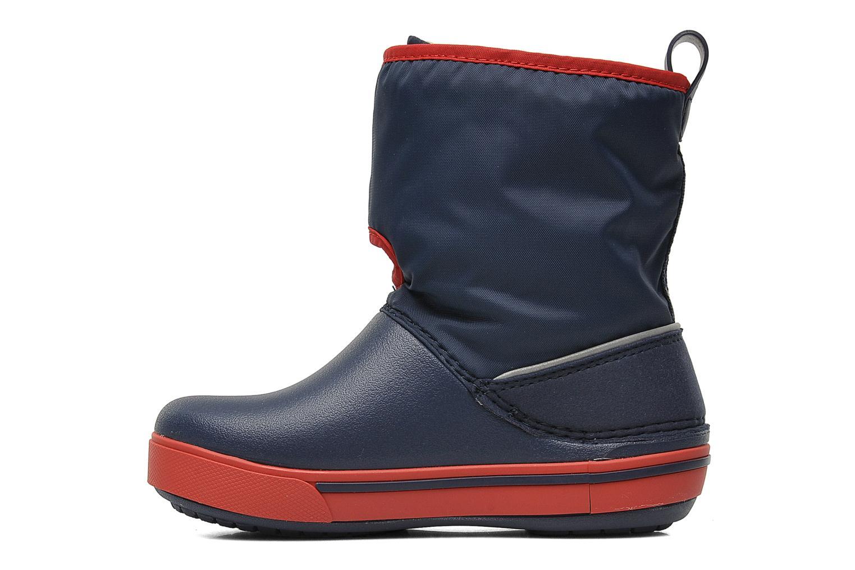 Botas Crocs Crocband II.5 Gust Boot Kids Azul vista de frente