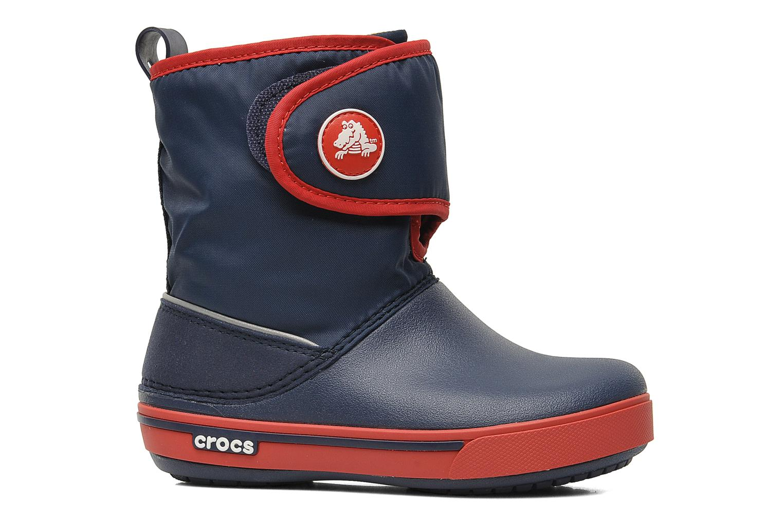 Botas Crocs Crocband II.5 Gust Boot Kids Azul vistra trasera