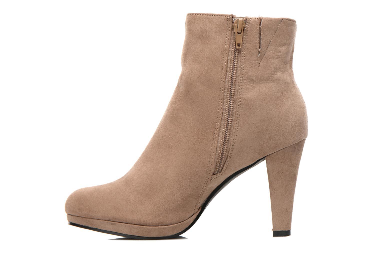 Boots en enkellaarsjes La Strada Kiera Beige voorkant