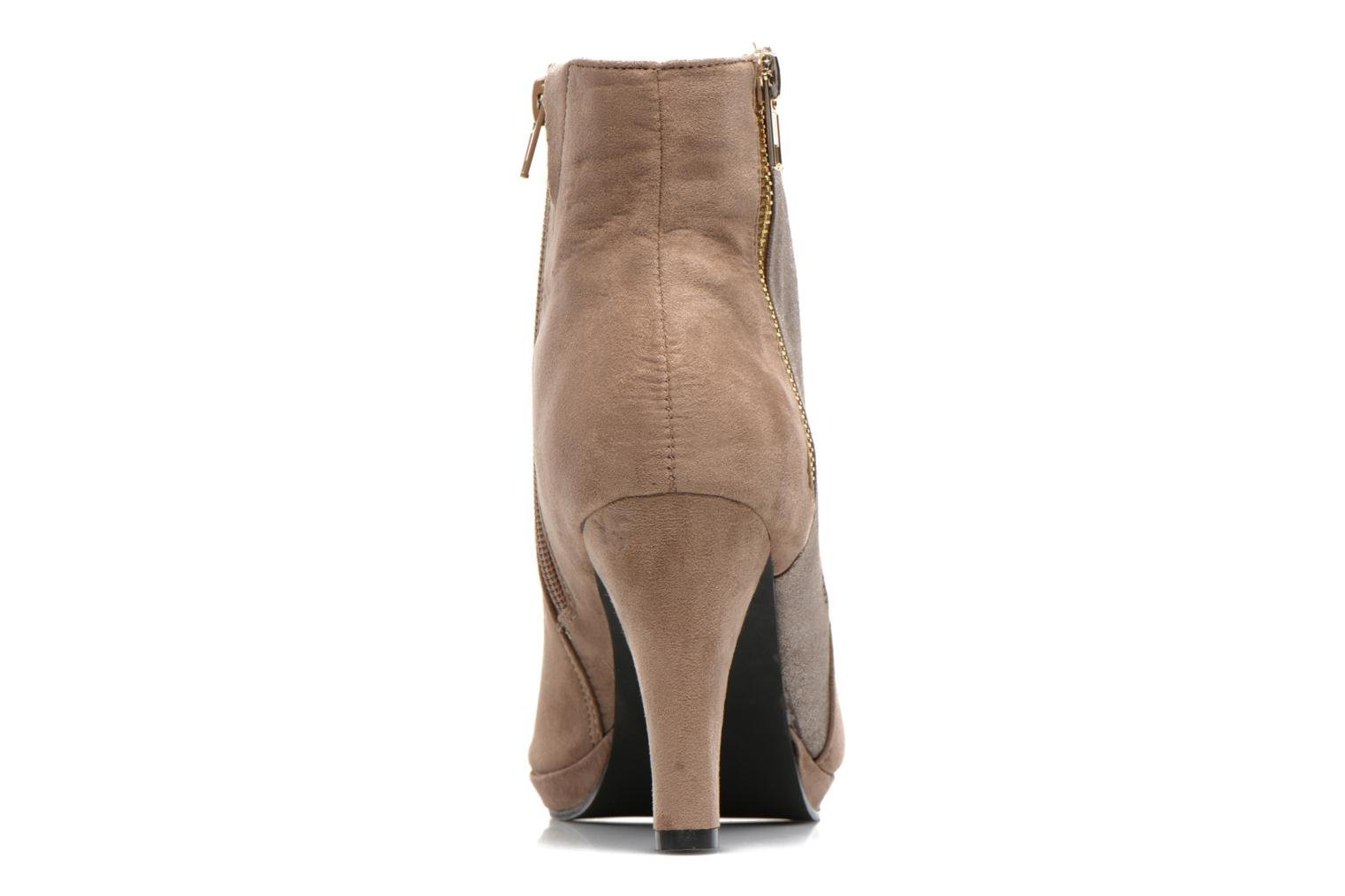 Ankle boots La Strada Kiera Beige view from the right