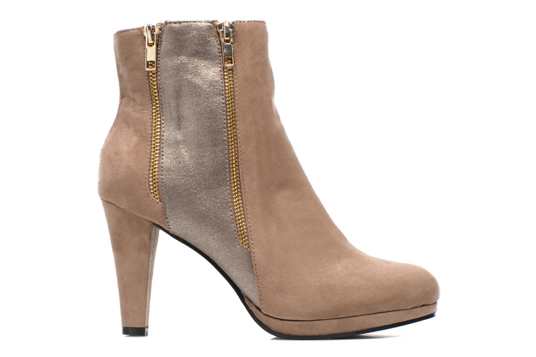 Boots en enkellaarsjes La Strada Kiera Beige achterkant