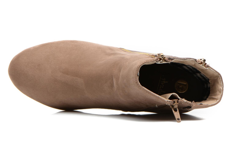 Boots en enkellaarsjes La Strada Kiera Beige links