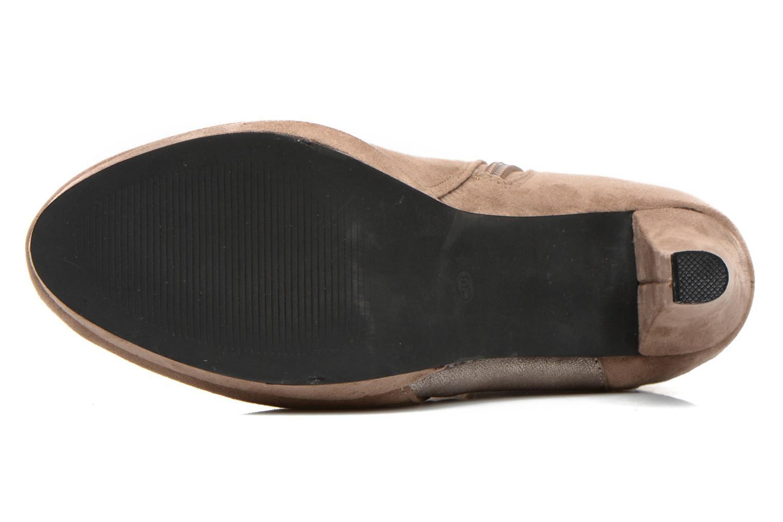 Boots en enkellaarsjes La Strada Kiera Beige boven
