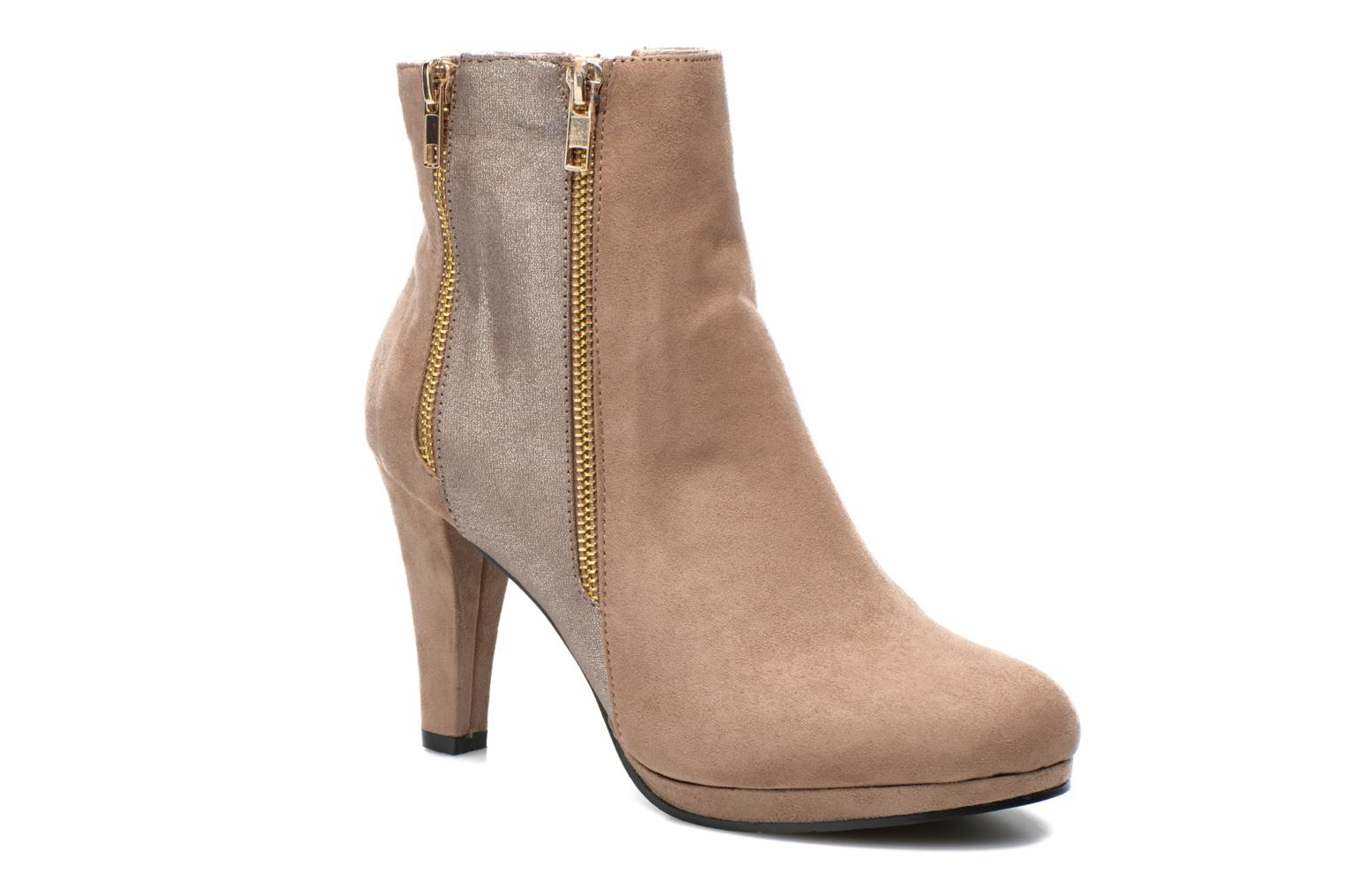 Ankle boots La Strada Kiera Beige detailed view/ Pair view