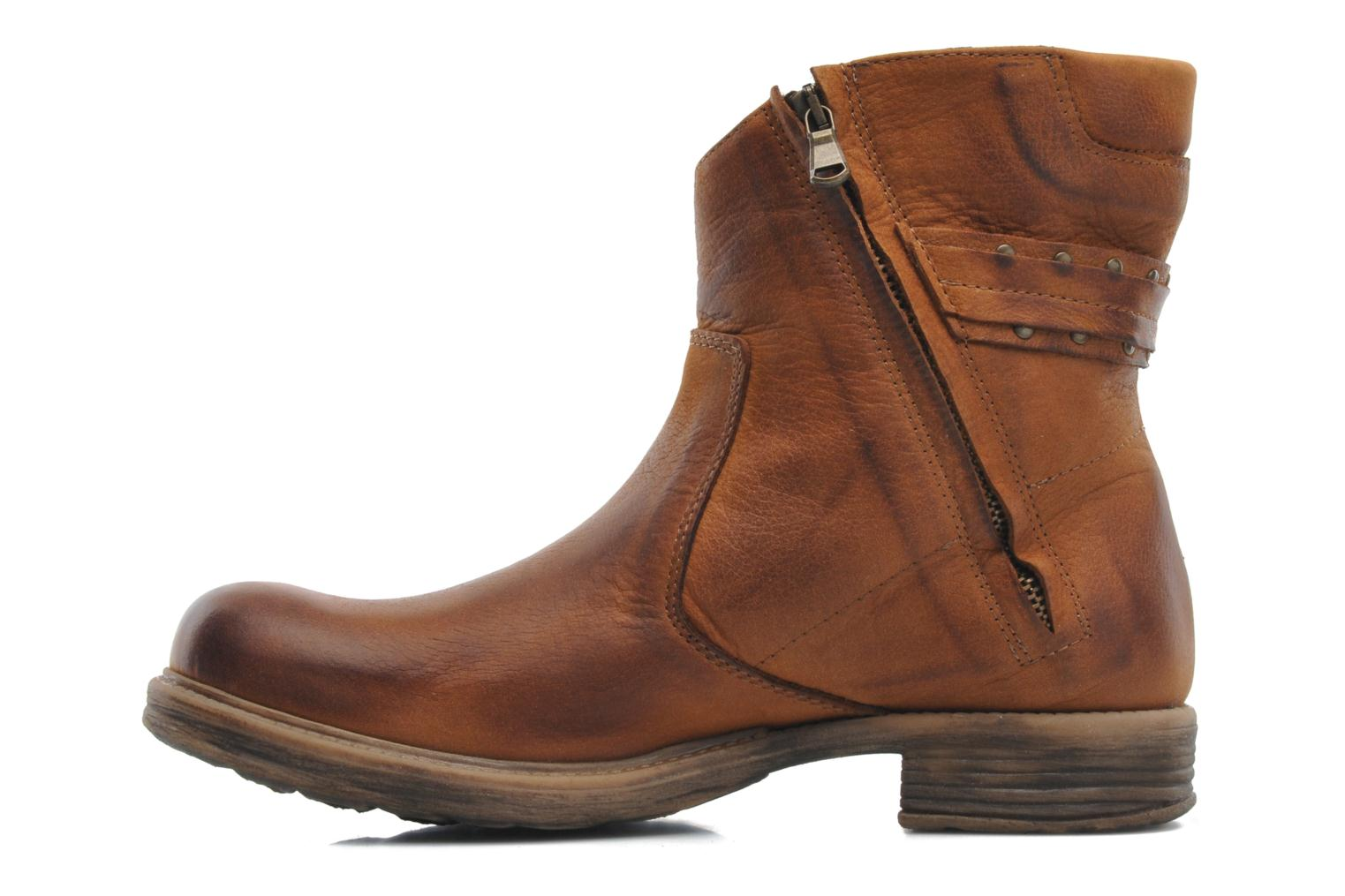 Ankle boots Sweet Lemon Pack Brown front view