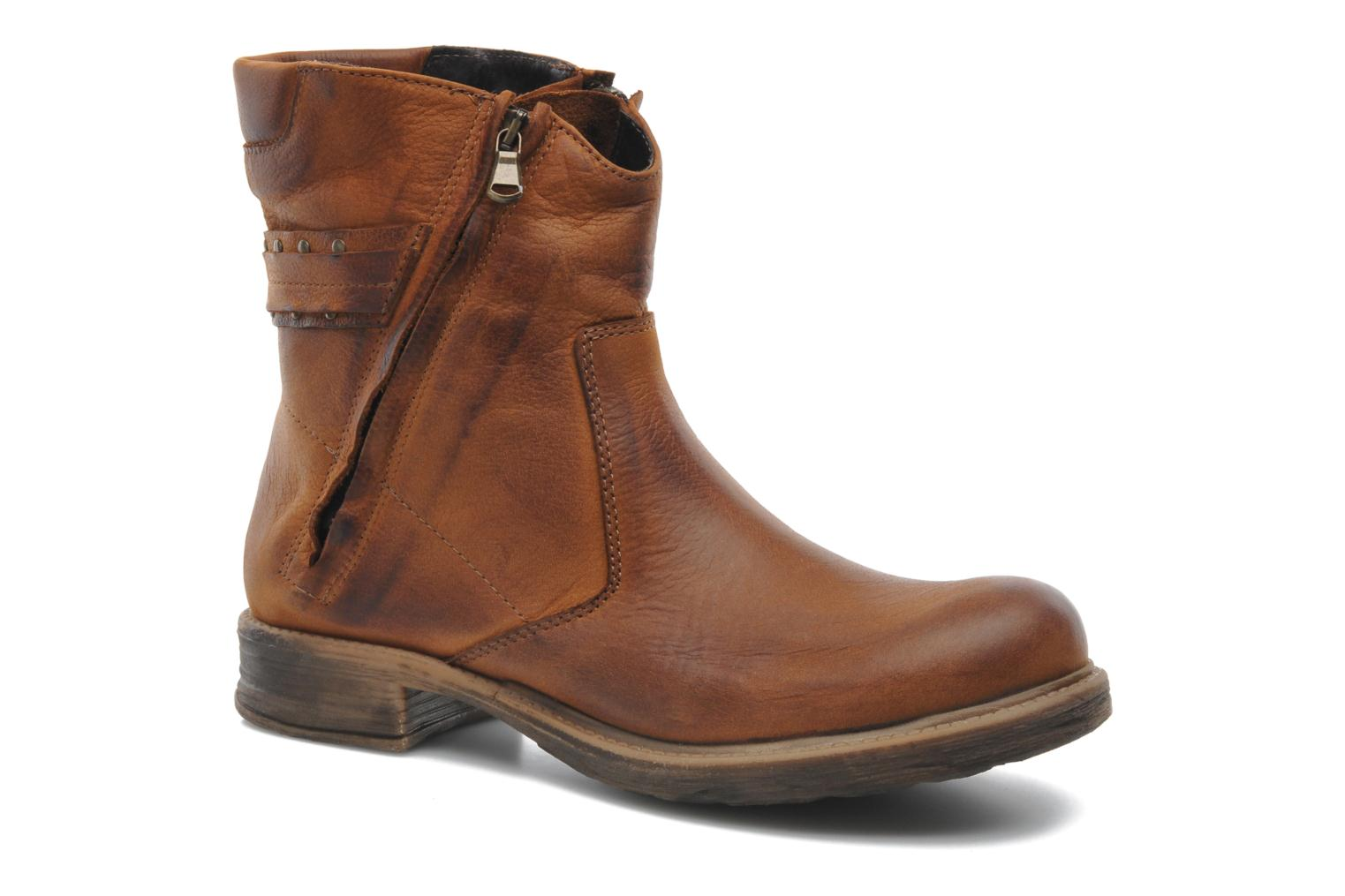 Ankle boots Sweet Lemon Pack Brown detailed view/ Pair view