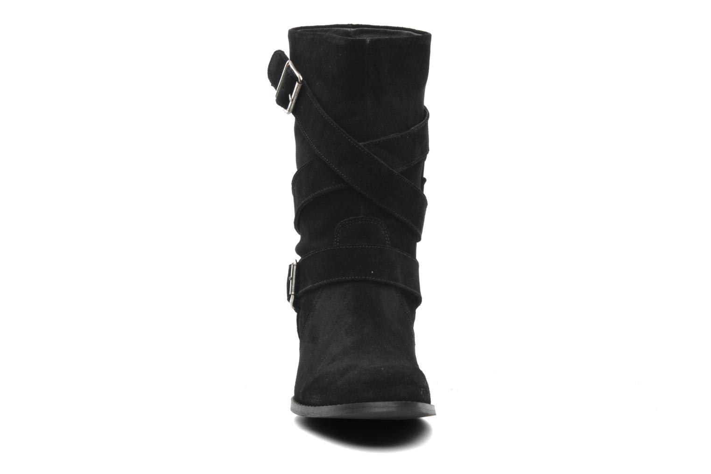 Bottines et boots Mellow Yellow Ripost Noir vue portées chaussures
