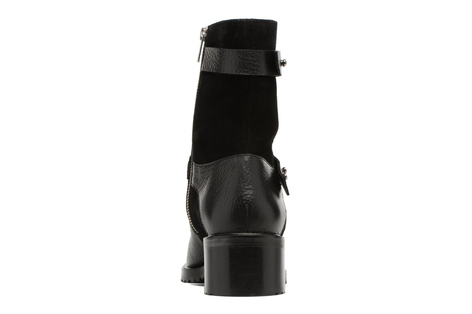Ankle boots Anaki Paul Black view from the right