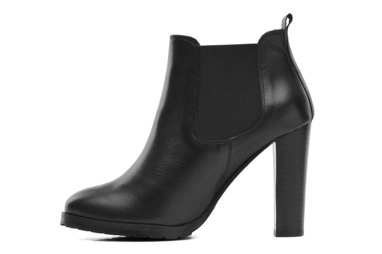 Bottines et boots Anaki Sabrina Noir vue face